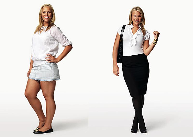 Как одеваться, чтобы выглядеть стройнее