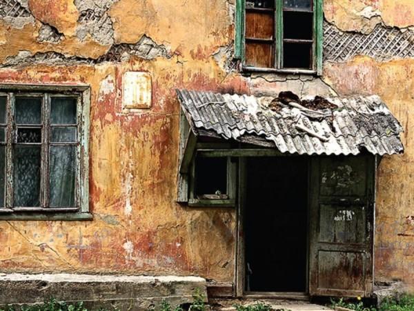 Сколько ветхих домов, в кото…