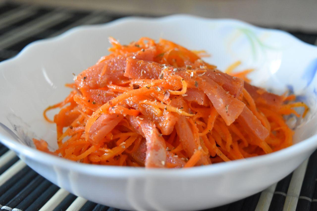 Рыбный салат по-корейски: на Новый год можно себе позволить!