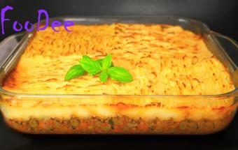 Пастуший пирог - вкуснейший обед для всей семьи