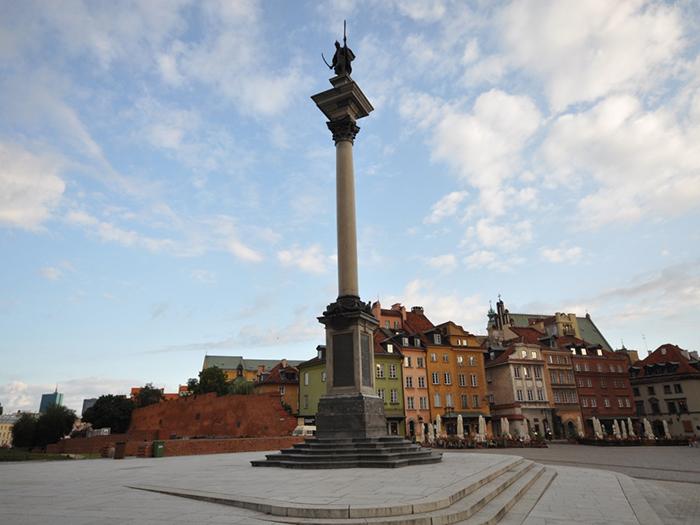 Колонна короля Сигизмунда III в Варшаве