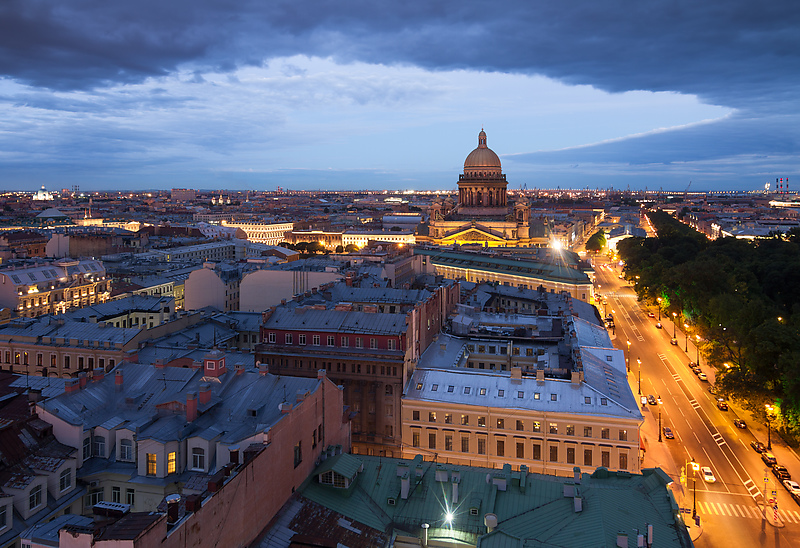 Санкт-Петербург стал туристическим лидером России