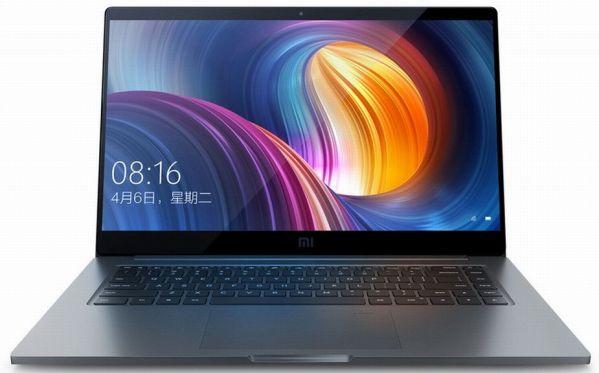 Представлен мощный ноутбук Xiaomi Mi Notebook Pro
