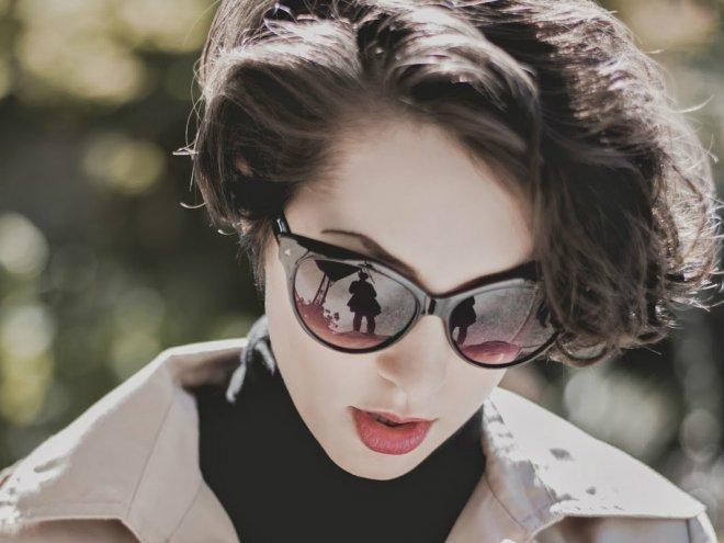 Купить солнечные очки со стразами