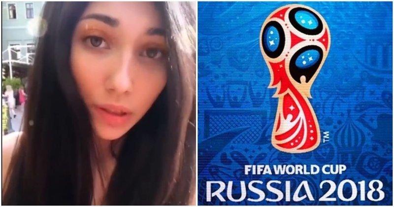 Обращение девушки к своим соотечественницам, которые вешаются на иностранных болельщиков видео, девушки, иностранцы, мнение, обращение, отношения, секс, спорт, футбол, чемпионат мира