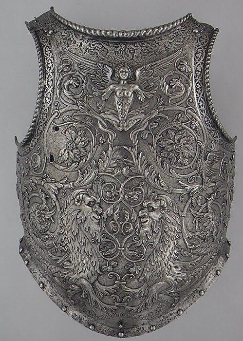 Оружейные произведения миланской семьи Negroli, XVI век
