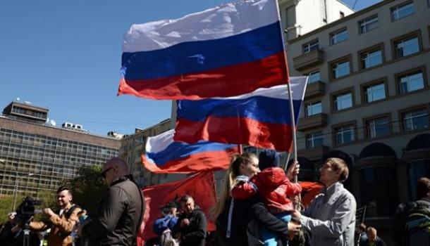 Напроспекте Сахарова вМоскве начался «болотный» митинг