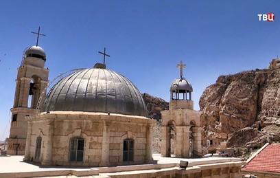 В Сирии восстанавливают древний православный монастырь святой Фёклы