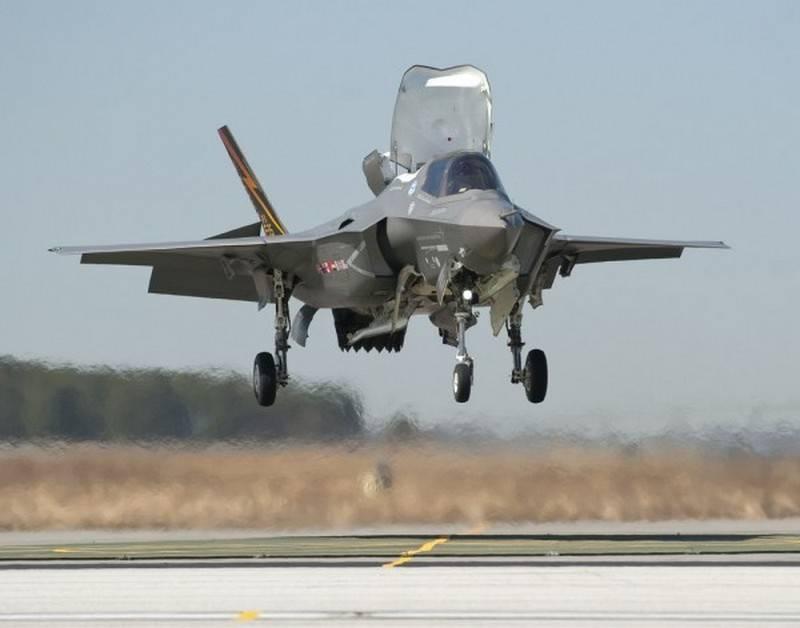 Полёты F-35 Lighting II приостановлены на неопределённое время