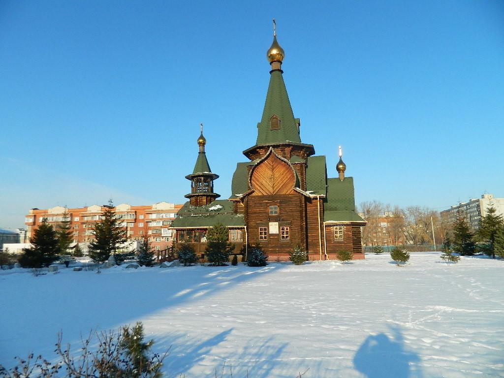 Прогулки по зимнему Омску