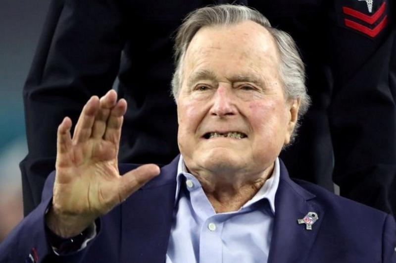 На смерть Джорджа Буша-старш…
