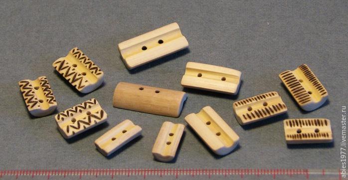 Творим пуговицы в японском стиле из веточек клёна