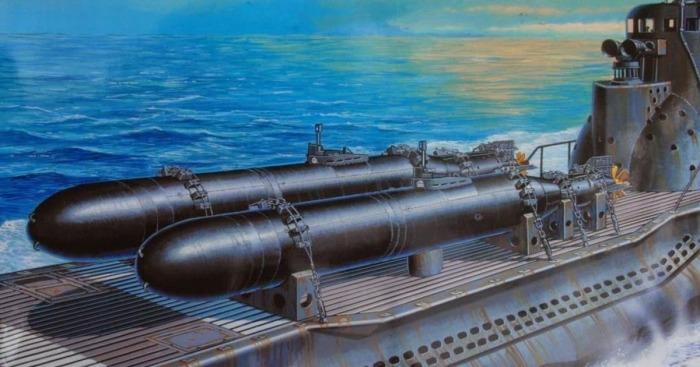 Как работали японские подводные камикадзе