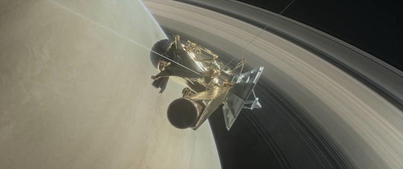 Впервые в истории: получены уникальные снимки колец Сатурна