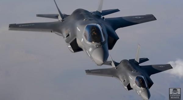 F-35B над Афганистаном