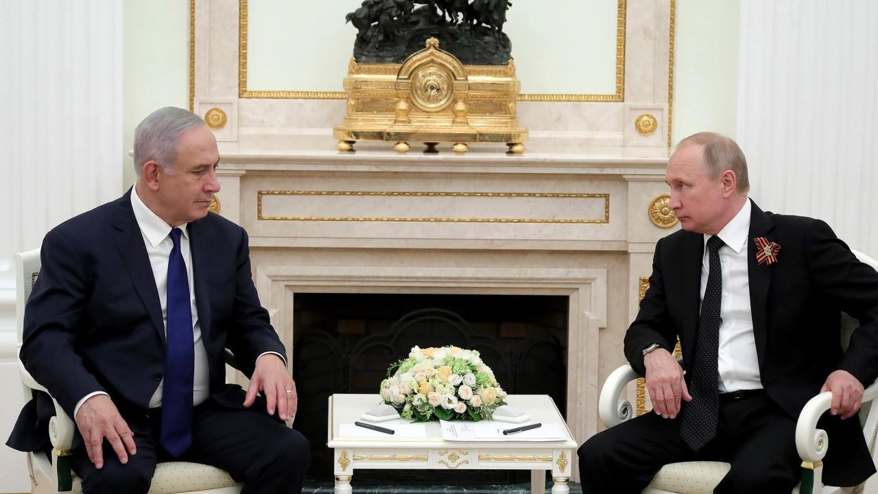 Путин обсудил по телефону с Нетаньяху трагедию Ил-20