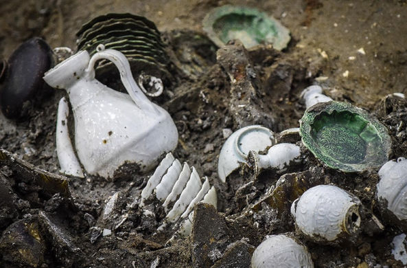 На затонувшем корабле династии Сун нашли 143 000 артефактов