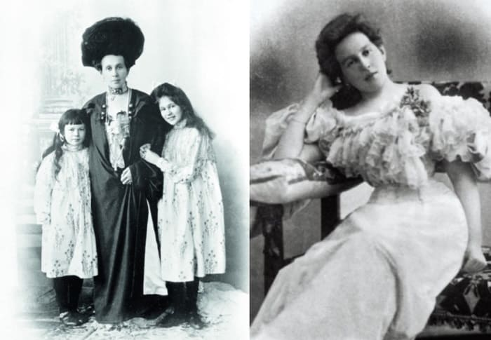 Зинаида Григорьевна Морозова с дочерьми Марией и Еленой | Фото: savva-morozov.ru