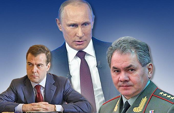 Шойгу вместо Медведева? – «У нас, слава Богу, не Украина!»