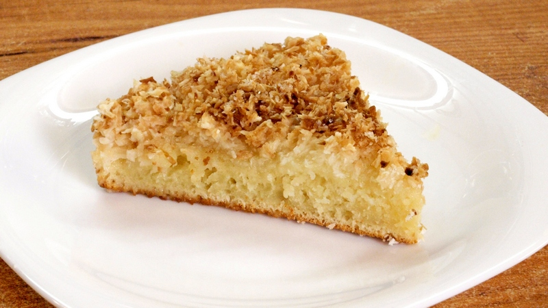 Кокосовый пирог - видео рецепт