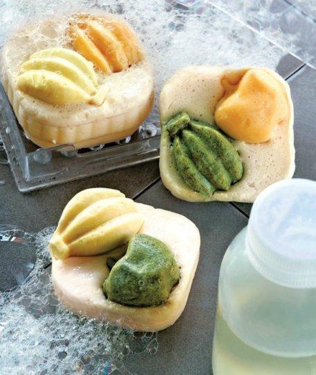 Мыло в форме фруктов своими руками: мастер-класс
