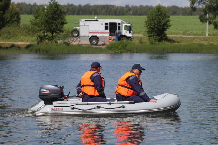 Трое москвичей чуть не ушли ко дну на Борисовских прудах