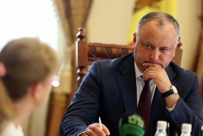 Додон заявил, что Молдова желает получать российский газ в обход Украины