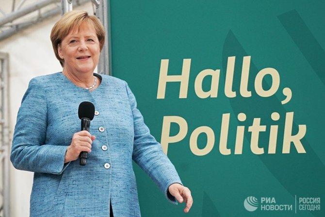 Ангельское терпение. В Германии Меркель меркнет, а Мерц мерцает