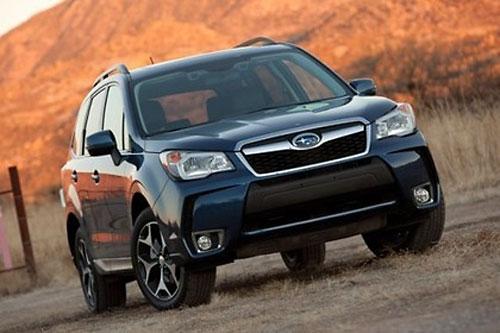 Subaru озвучил цены на Forester 2015 года