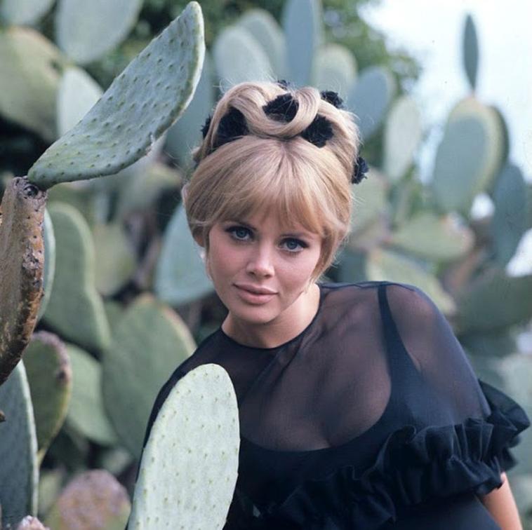 Бритт Экланд шведская  красотка1960-х