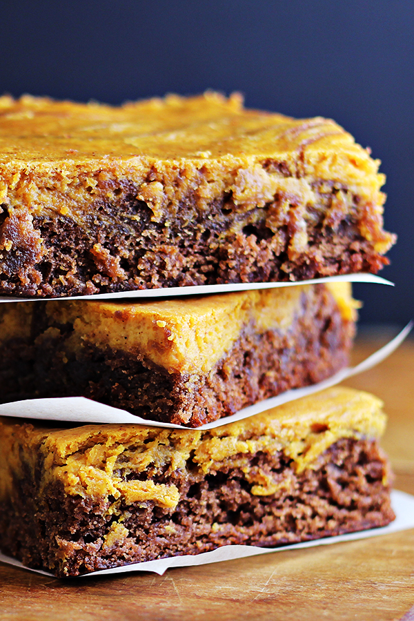Easy Pumpkin Cheesecake Brownies Recipe 7