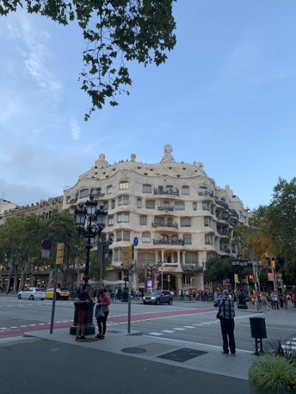 Ла Педрера.  Барселона. Часть 1