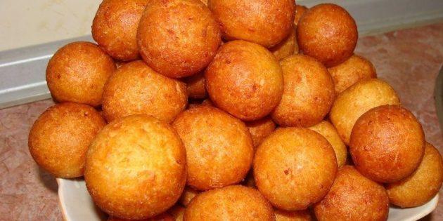 Рецепты пончиков: Пончики на кефире