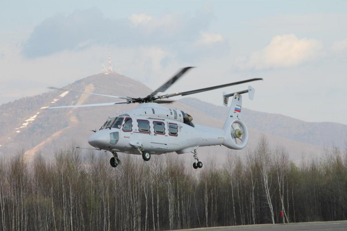 Летные испытания вертолета Ка-62 начнутся до конца года