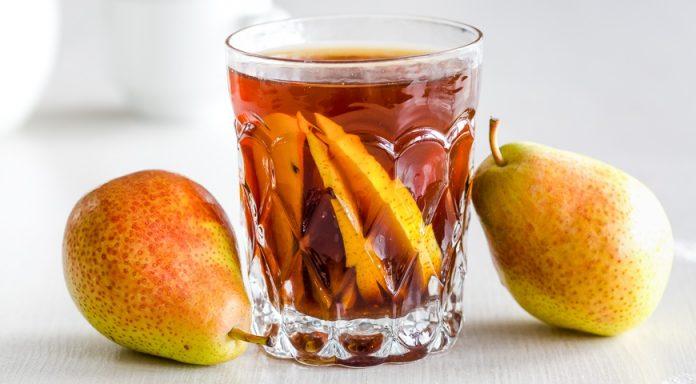 Ароматный чай с грушей