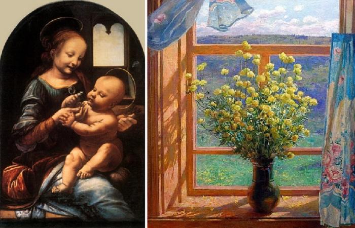 Окна, как судьбы: Что изображали знаменитые живописцы в окнах с эпохи Возрождения и до нынешнего времени