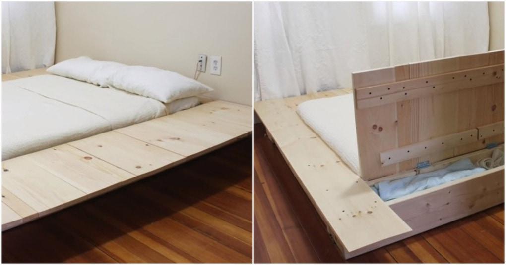 Шикарная кровать-платформа: недорого и быстро своими руками