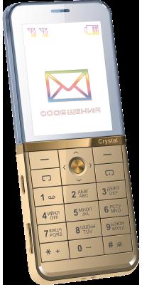 Телефон с прозрачным дисплеем