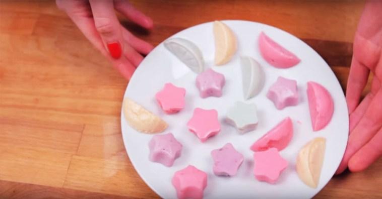 Вкуснейшие желейные конфеты из йогурта. Можно даже на диете!