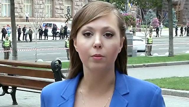 В Киеве похитили журналистку Первого канала