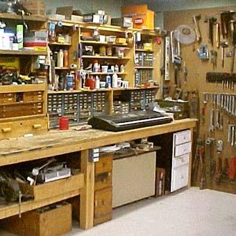 Оборудование мастерской своими руками фото