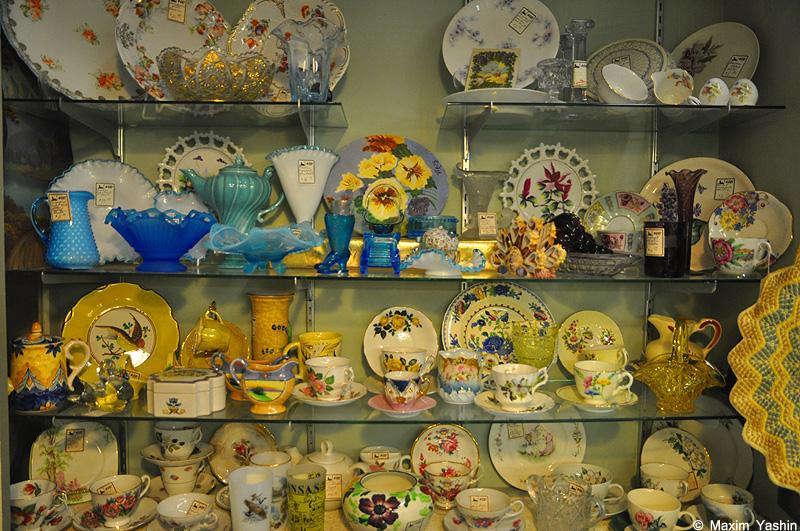 Antiques shops 24 Антикварные магазины в США