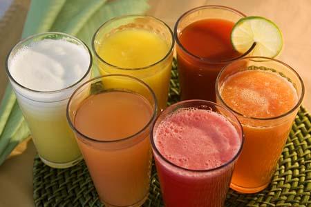 Фруктовые и овощные соки: польза и преимущества!