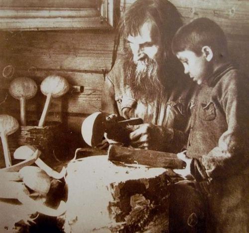 Изготовление деревянной утвари