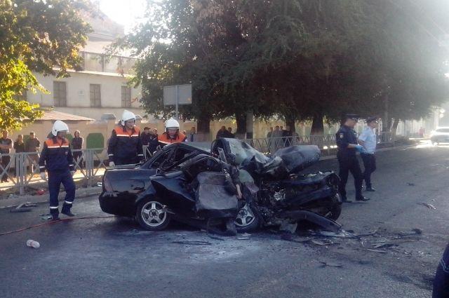 В Тамбове жертвами столкновения авто с катком стали четыре человека