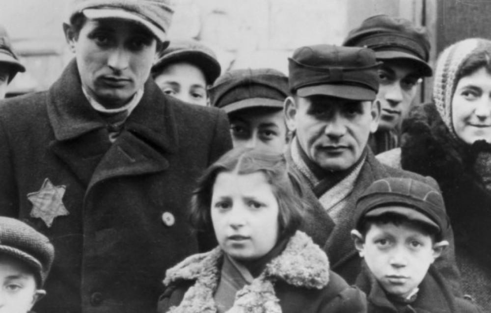 Жуткое еврейское гетто...