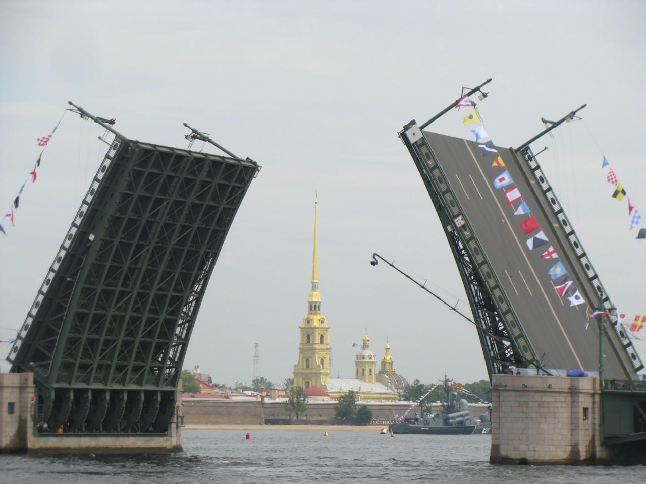Самые интересные мосты Санкт-Петербурга
