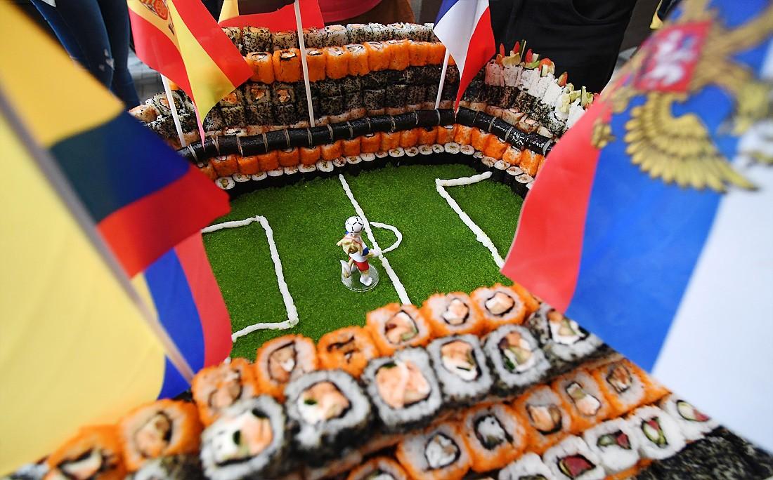 В Казани построили стадион из суши