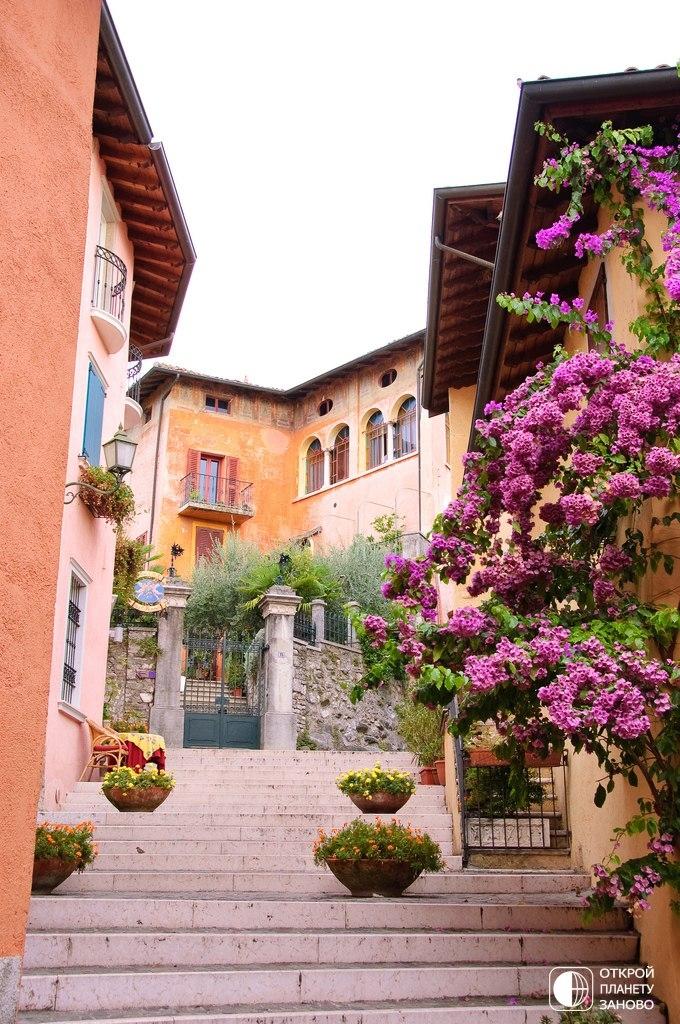 Gardone Riviera - город садов