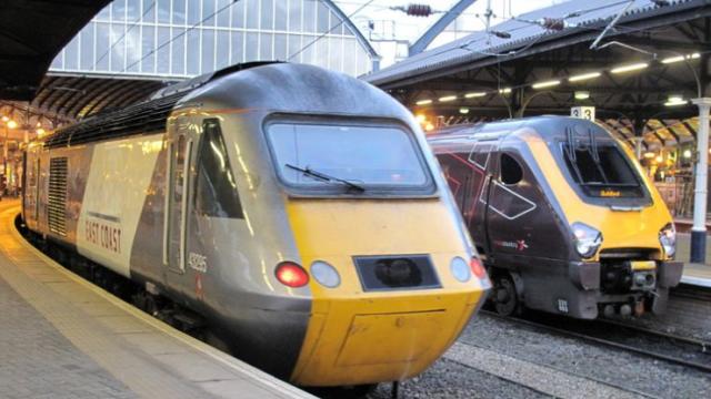 В крохотной Британии заблудился поезд
